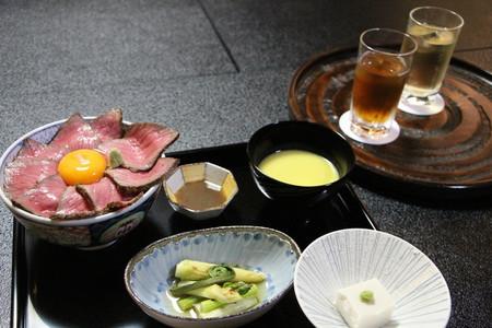 高見叡王の夕食