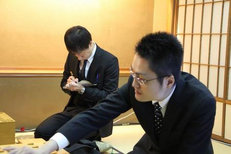 池田将之さんと稲葉八段