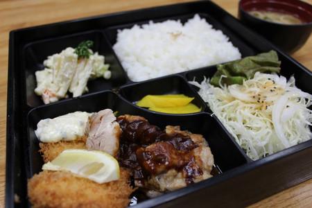 チキンステーキ&白身魚