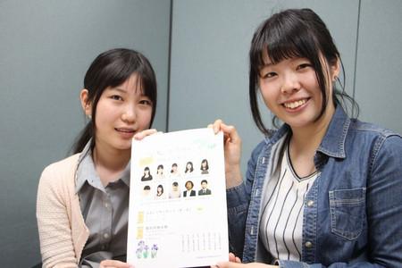 長谷川女流二段と山口絵女流1級