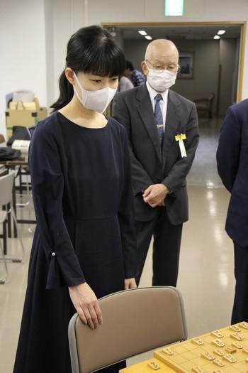 村田女流二段と北村館長