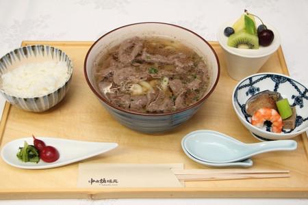 神戸牛肉うどん膳