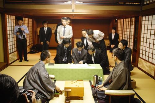王座戦中継Blog: 千日手成立